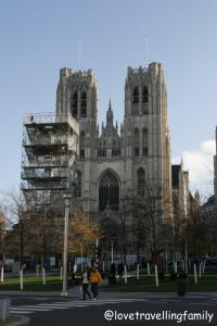St. Michael and Gudula Cathedral in Brussels, Belgium