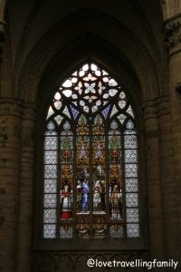 St. Michael and Gudula Cathedral, widow