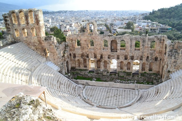 Theatre of Herodes Atticus, Acropolis, Athens, Greece
