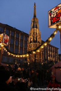 Christmas market Nuremberg, Germany Weihnachtsmarkt