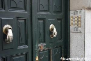 Door, Madrid, Spain
