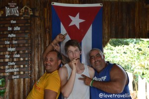 Love travelling family and our hosts Viñales, Cuba