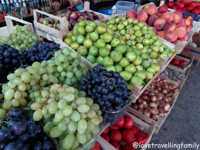 Fruit market, Bosnia and Hercegovina