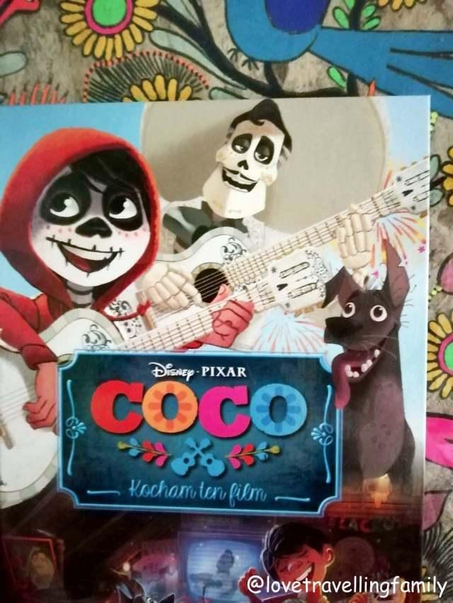 dia de los muertes book: coco