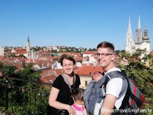 Zagreb, Croatia, 2018, Love travelling family