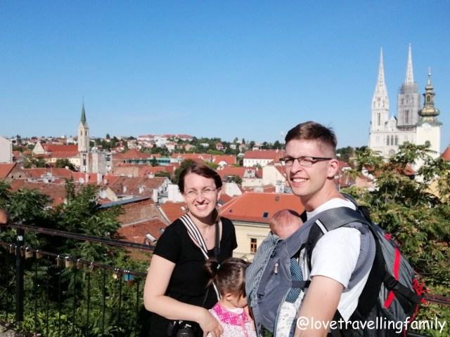 Zagreb, Croatia, 2018, Love travelling family