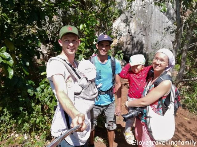 Climbing in Viñales, Cuba Love travelling family