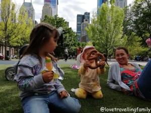 Heckscher Playground Central Park, Love travelling family