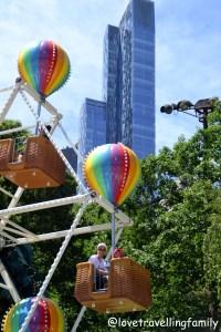 Victorian Gardens Amusement Park, Love travelling family