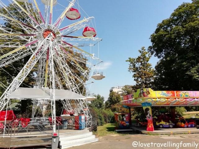 Amusement park Kalemegdan, Serbia, Belgrade with kids, Love travelling family