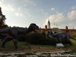 Dino Park Kalemegdan, Serbia, Belgrade with kids, Love travelling family