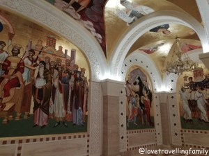 The Church of Saint Sava, crypt mosaic Serbia, Belgrade with kids, Love travelling family