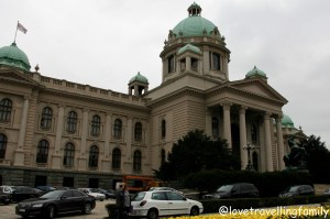 The National Assembly of Serbia, Belgrade with kids, Love travelling family