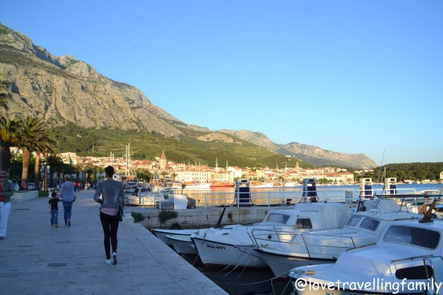 Harbor Makarska, Makarska Riviera. Family travel guide