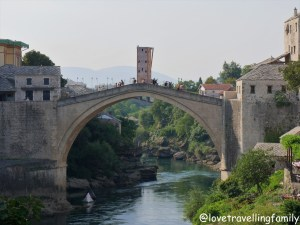 Mostar, Bosnia and Herzegovina. Things to do in Mostar. Balkans with kids.
