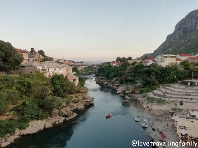Neretva River Mostar, Bosnia and Herzegovina. Things to do in Mostar