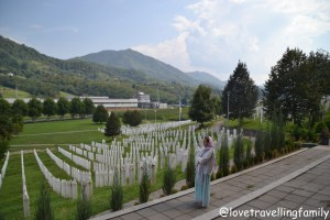Srebrenica, Potočari Memorial Center and Cemetery. Srebrenica Genocide Memorial. Bosnia and Herzegovina