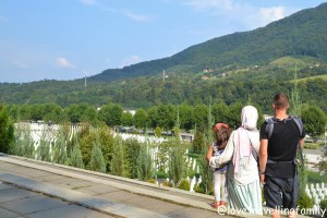 Srebrenica, Potočari Memorial Center and Cemetery. Srebrenica Genocide Memorial. Love travelling family