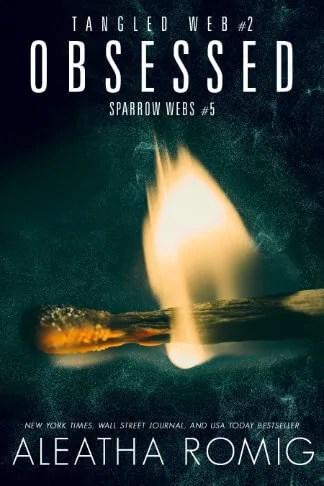 Aleatha Romig book cover for Obsessed