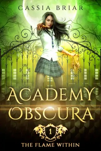 Cassia Briar | Academy Obscura: The Flame Within