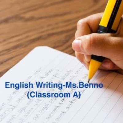 Group logo of English Writing -Ms. Benno (Classroom A)