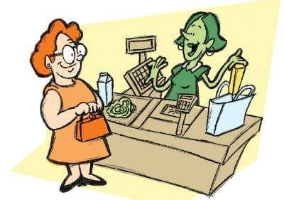 Sve on groceries and receive cash back using the Ibotta app.
