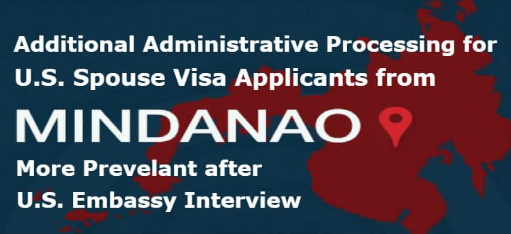 Mindanao Visa Applicants Face Additional Administrative Processing
