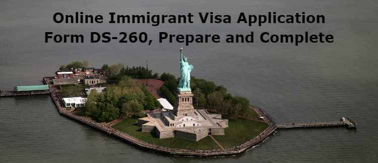 how to prepare a visa application