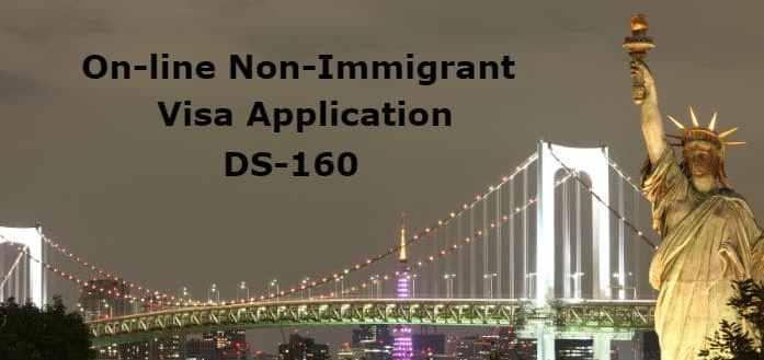 Online Nonimmigrant Visa Application Ds 160