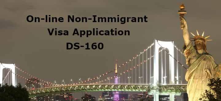 Online NonImmigrant Visa Application DS-160 - LoveVisaLife