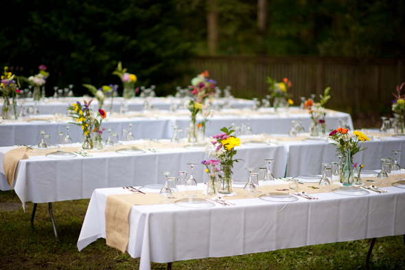Planning a wedding domesblissity for Diy wedding reception ideas