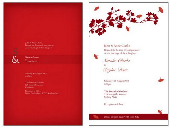 How To Design Wedding Invitations A