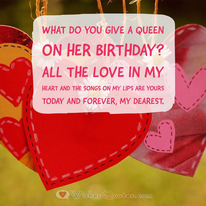 Birthday Wishes For Girlfriend By Lovewishesquotes