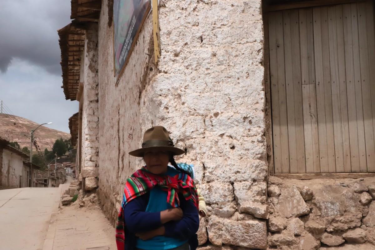 Sacred Valley Quecha woman