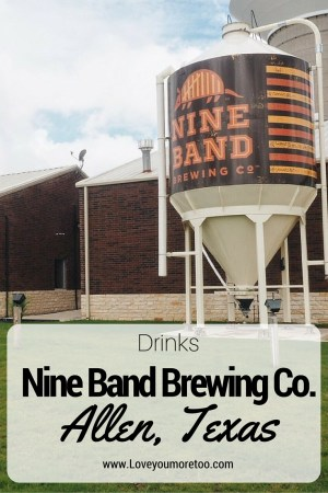 love you more too north dallas blogger plano lifestyle blogger nine band brewing co brawl and brews Pinterest