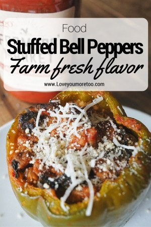 love you more too north dallas blogger plano lifestyle blogger stuffed bell peppers prego farmers' market