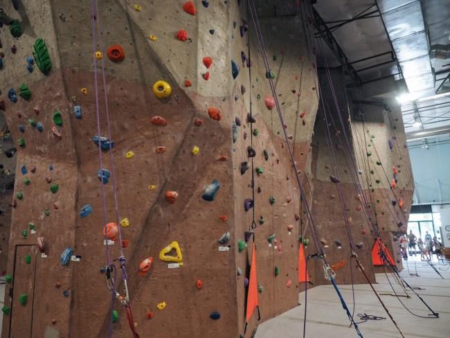Dating climbing gym