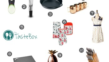 2016 christmas gift ideas for foodies