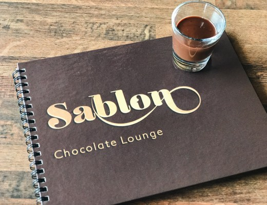 Sablon Chocolate Lounge Dallas Food Blogger Love You More Too