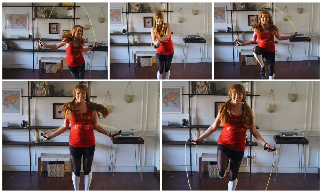 jump rope workout circuit Dallas Fitness Blog Blogger Love You More Too