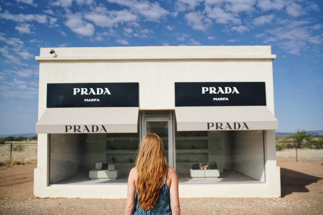 Prada Marfa Van Life Marfa Travel Blog Blogger Love You More Too