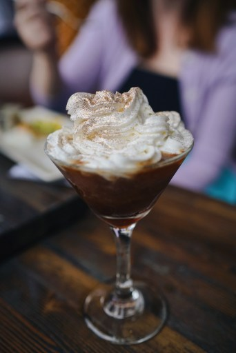 Frozen Espresso Martini at Bitter End Dallas