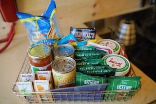 Getaway Dallas cabin provisions