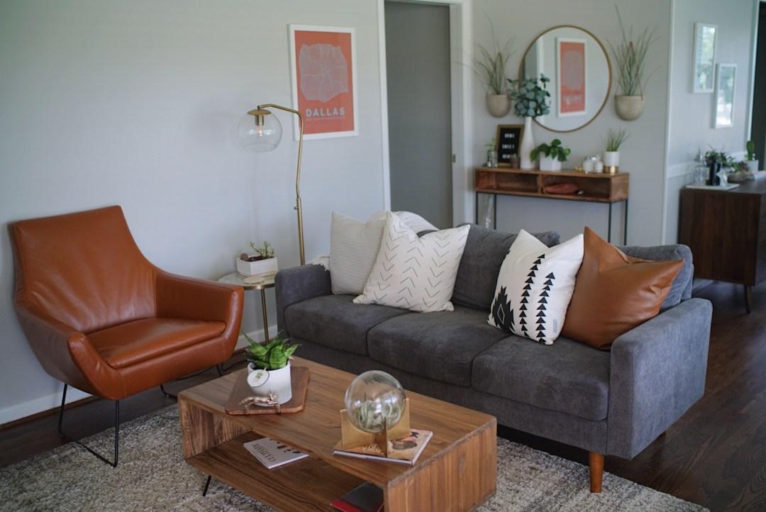 Boho House Tour Plants windows living room inspo
