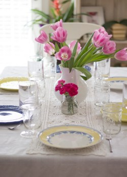 Easter Inspired Tablescapes