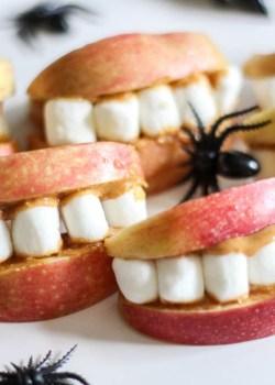 Creepy Apple Teeth
