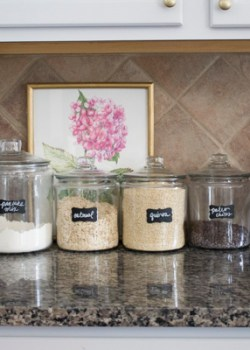 Organizing with Canisters