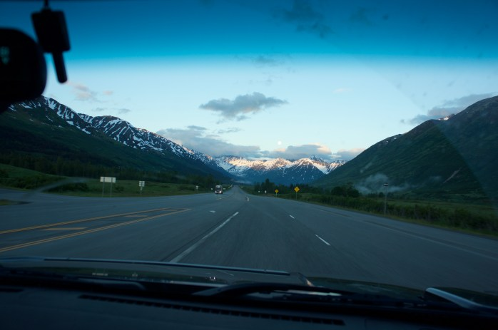Absolute gorgeousness on the way to Seward, Alaska for some fishing.