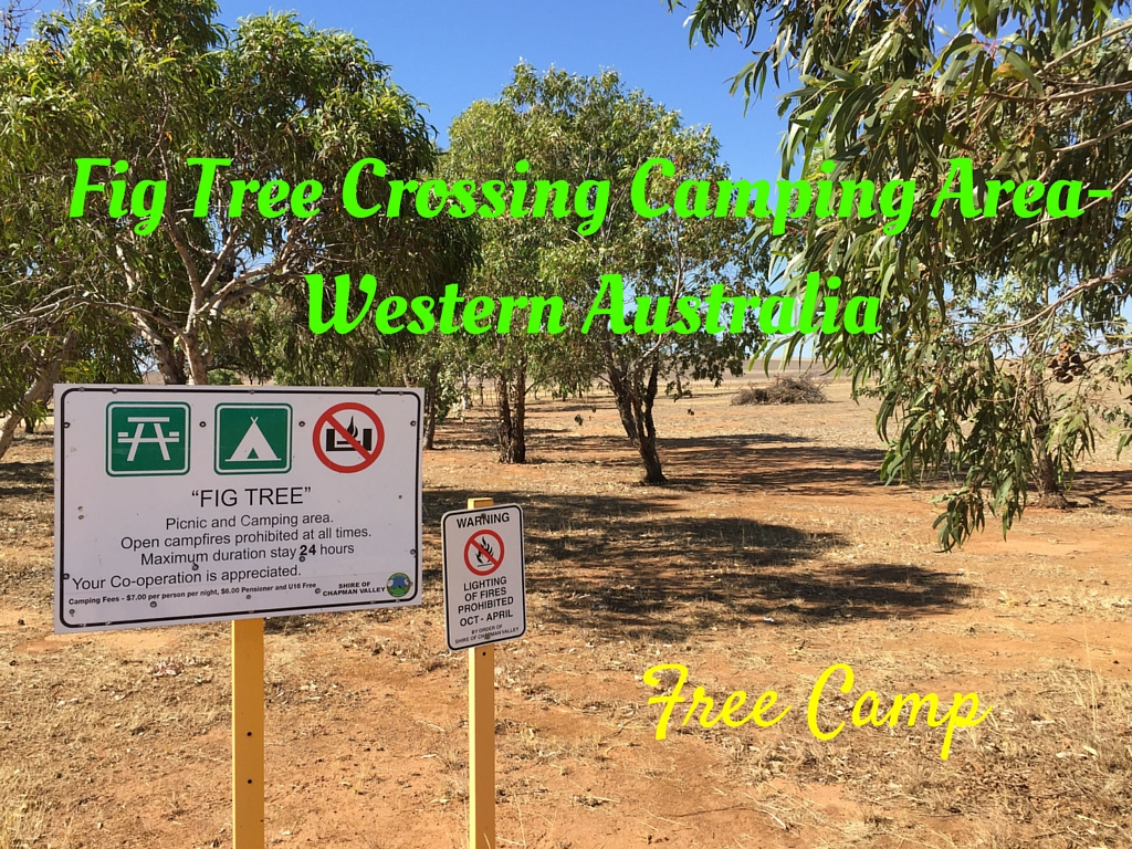 Fig Tree Crossing Picnic & Camping Area- Western Australia