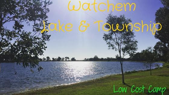 Watchem Lake & Township- Victoria